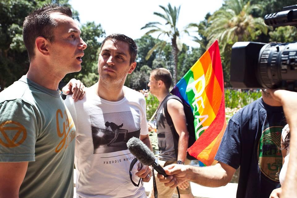 935707 10151471949787895 956708349 n Voyage de noces à Tel Aviv pour le premier couple gay marié de France